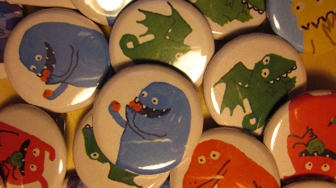 Monster badges for MA show