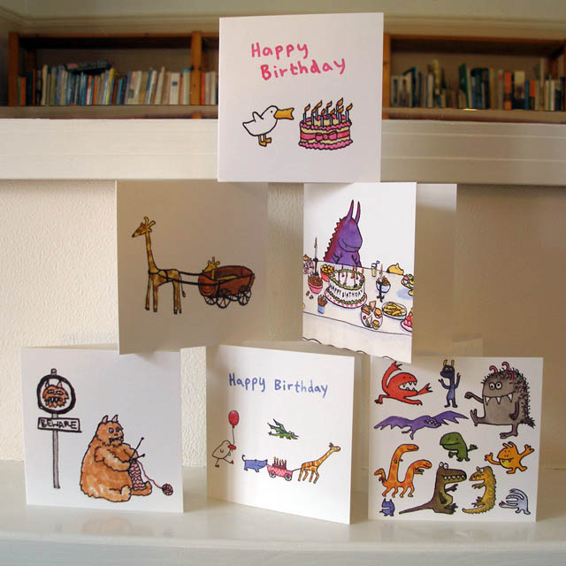 Cards published by Earlybird designs
