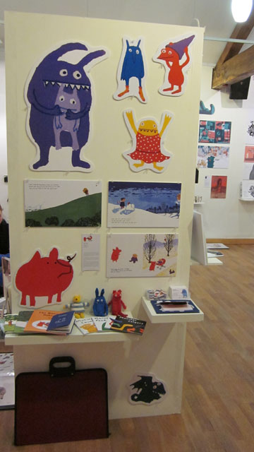 My work in the MA show at Foyles
