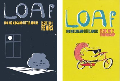 Covers of LOAf magazine