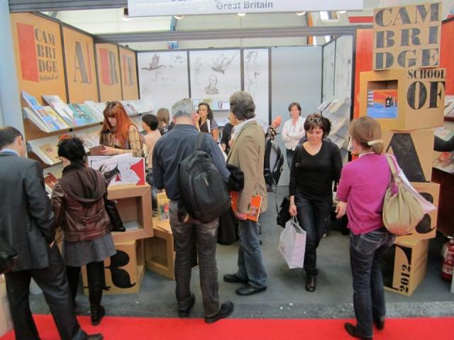 CSA stand at Bologna Bookfair