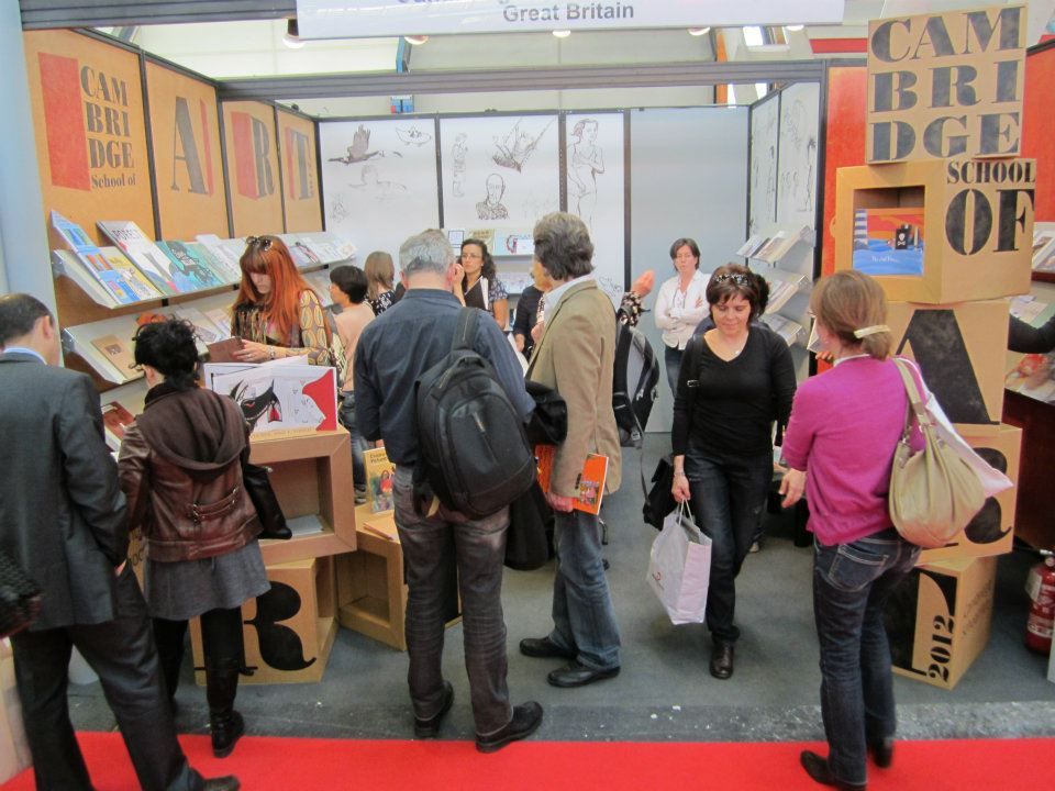 CSA stand at Bologna Bookfair