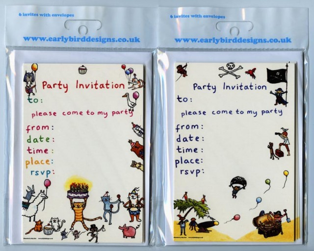 party invitations for Earlybird