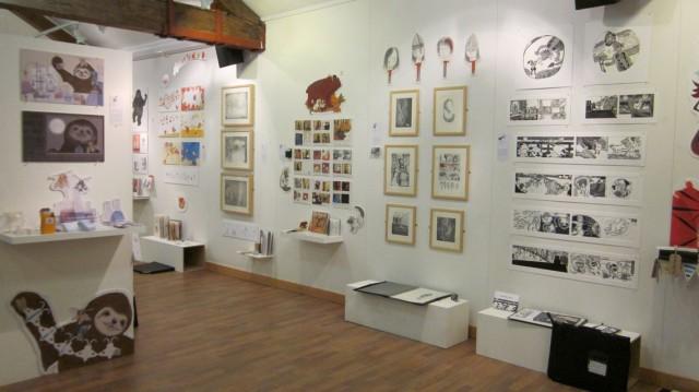MA show in Foyles