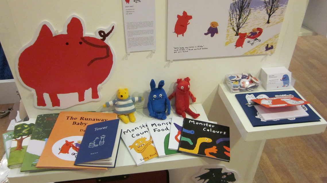 My shelf in the MA show in Foyles