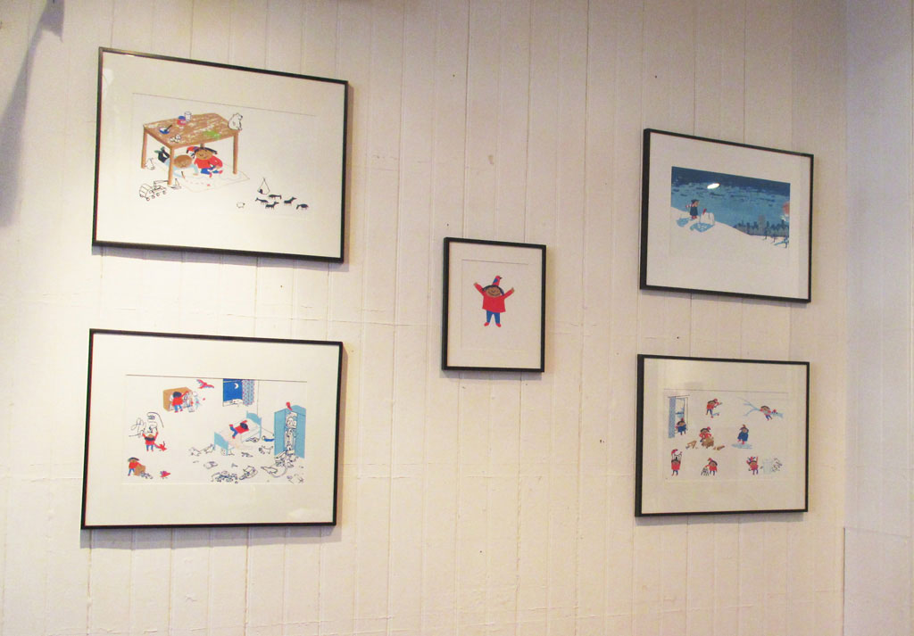 Exhibition at Pickled Pepper Books