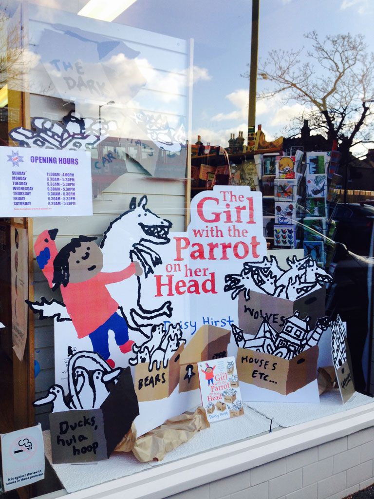 Dulwich Books window