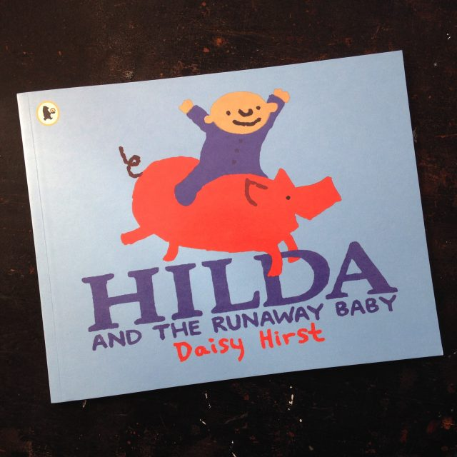Hilda and the Runaway Baby paperback book