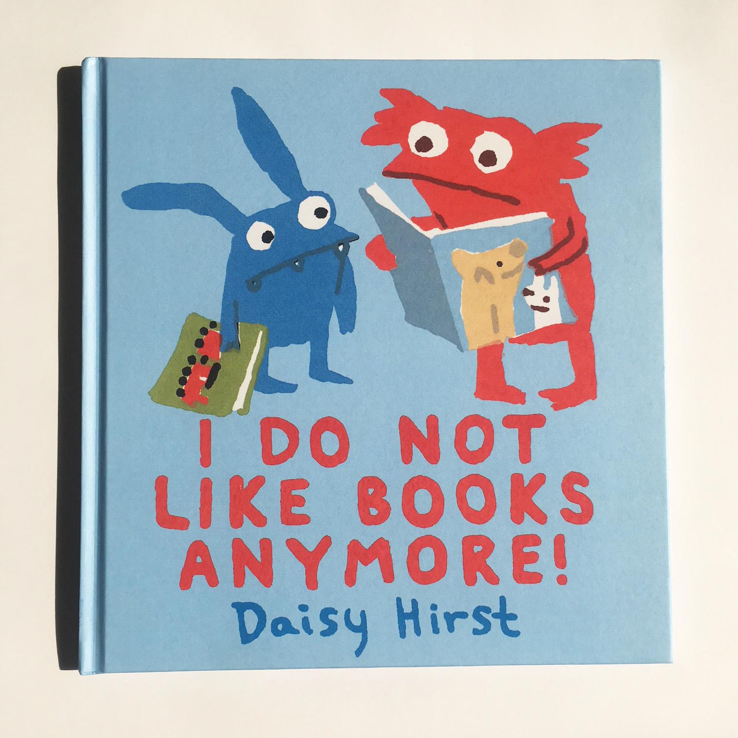 Photo of I Do Not Like Books Anymore!