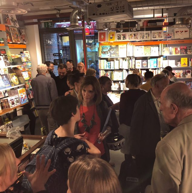 I Do Not Like Books Anymore launch