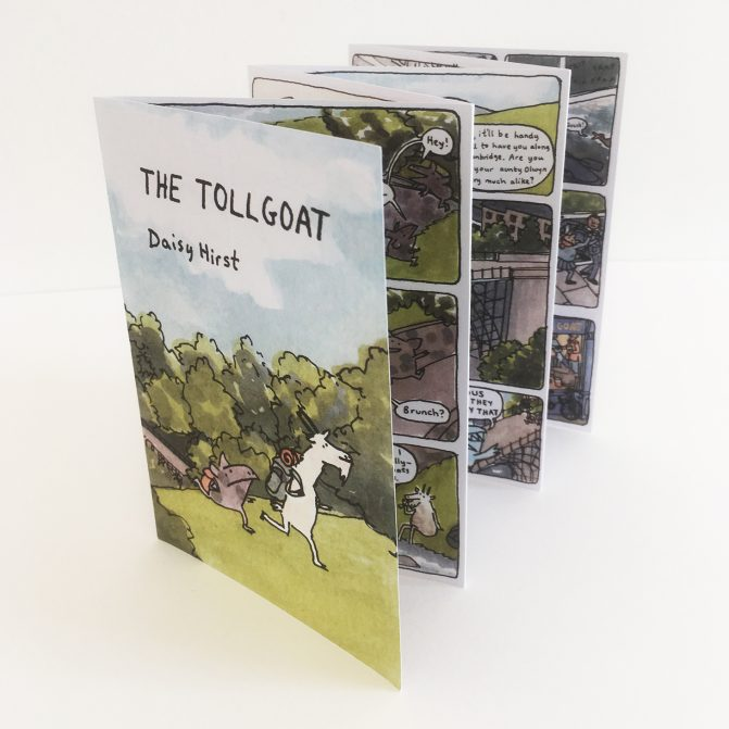 The Tollgoat comic
