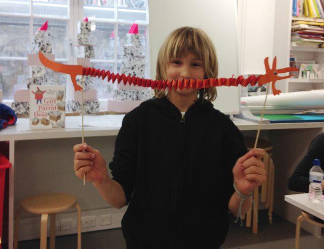 Longest monster puppet